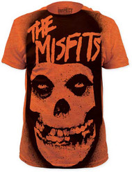 THE MISFITS STENCIL BIG PRINT MENS SUBWAY TEE