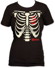 THE MISFITS RIBCAGE JUNIORS TEE