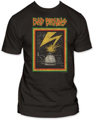 BAD BRAINS DISTRESSED CAPITOL FITTED JERSEY TEE