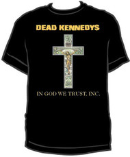 DEAD KENNEDYS IN GOD WE TRUST, INC. MENS TEE