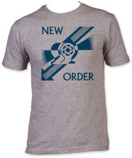 NEW ORDER EVERYTHINGS GONE GREEN FITTED JERSEY TEE