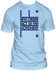 NEW ORDER FACT. 50 1981 FITTED JERSEY TEE