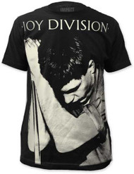JOY DIVISION IAN CURTIS BIG PRINT MENS SUBWAY TEE
