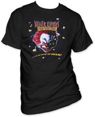 KILLER KLOWNS FROM OUTER SPACE MOVIE POSTER 1 MENS TEE
