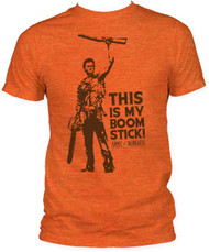 ARMY OF DARKNESS THIS IS MY BOOMSTICK! FITTED JERSEY TEE