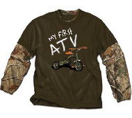 My First ATV Infant 2-Fer Shirt