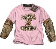 Camo Cutie Infant 2-Fer Shirt