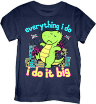 DINO I DO IT BIG TODDLER TEE