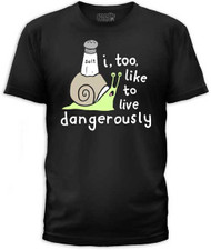 LIVE DANGEROUSLY MENS TEE