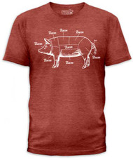 WHERE BACON COMES FROM MENS TEE