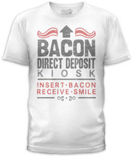 BACON DEPOSIT MENS TEE