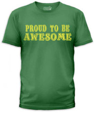PROUD TO BE AWESOME MENS TEE