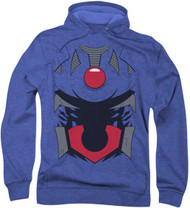 Justice League of America Darksied Costume Super Soft Hoodie