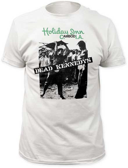 Mens The Dead Kennedys Holiday in Cambodia Tee Shirt