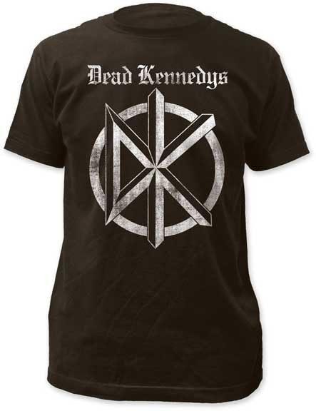 Mens The Dead Kennedys Old English Logo Tee Shirt