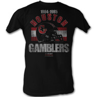 Mens USFL Houston Gamblers 84-85 Tee Shirt