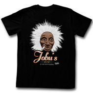 Major League Jobu's Rum Adult Tee Shirt in Black