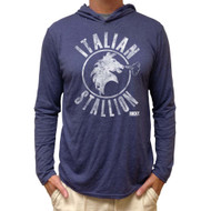 Rocky Italian Stallion Long Sleeve Hooded Shirt