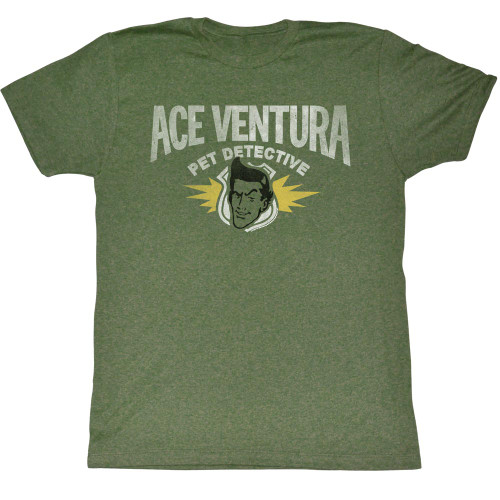 Ace Ventura Pet Detective Retro Adult Tee Shirt
