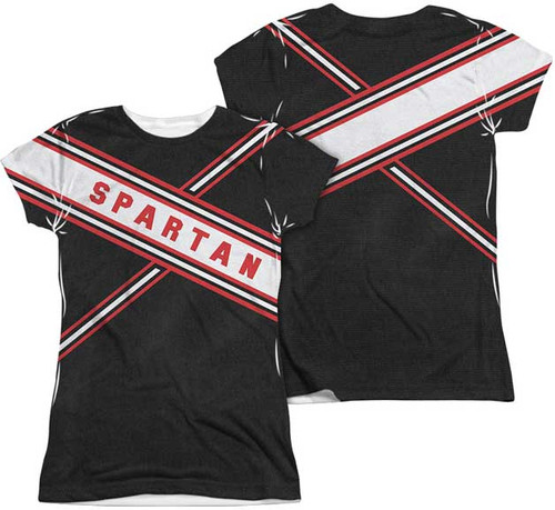 Saturday Night Live Spartan Costume Juniors Sublimation Tee Shirt