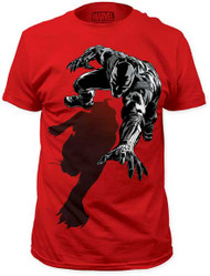 Mens Marvel Comics Black Panther Shadow T-Shirt