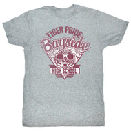 Saved by The Bell Bayside Tiger Pride Adult Tee Shirt