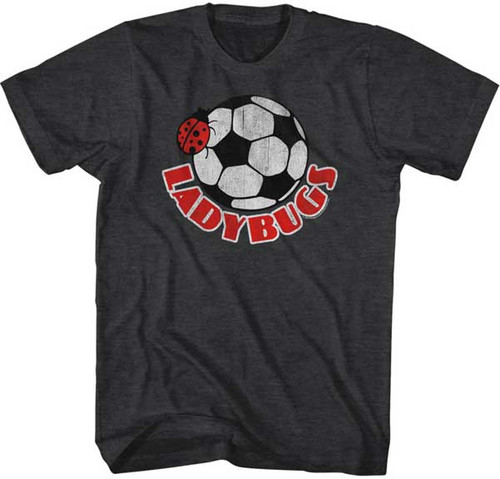 Ladybugs Bug on a Ball Mens Tee Shirt
