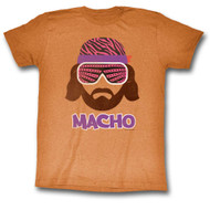 Randy Macho Man Savage Macho Adult Tee Shirt