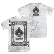 Mens Sons of Anarchy Ace of Spades Sublimation Tee Shirt