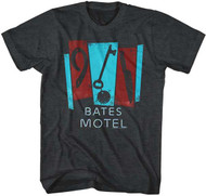 Bates Motel Charcoal Heather Tee Shirt