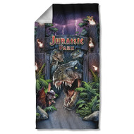 Jurassic Park Beach Towel