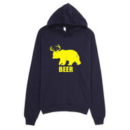 Bear Plus Deer Equals Beer Hoodie