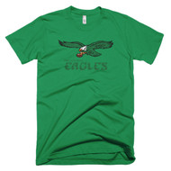 Retro Philadelphia Eagles Inspired Short Sleeve Mens T-Shirt