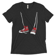 Mens Step Brothers Hi Tops Inspired Tri Blend Tee Shirt