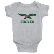 Philadelphia Eagles Inspired Infant short sleeve one-piece Bodysuit
