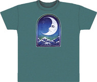 Grateful Dead Crescent Moon Adult T-Shirt or Short Sleeves T-Shirt
