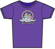 Grateful Dead Smilin' Bears on a Cloud Womens T-Shirt