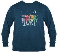 Grateful Dead Rainbow Dancers Long Sleeves T-Shirt