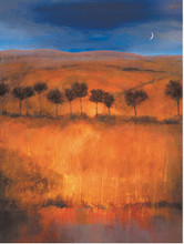 African Art Print. 'Atlas Foothills' by Caroline Gold