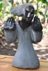 Zimbabwe Shona Stone Sculpture - 'Lady Hands' by Rufaro Ngoma