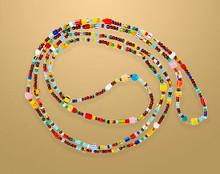 African Glass Love Beads
