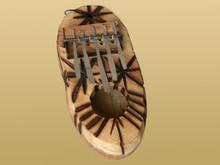 African Thumb Piano - 5 Key