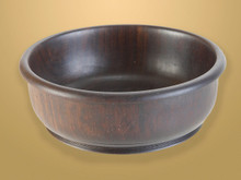 Ebony Bowl. Hand crafted from African Ebony Wood