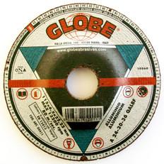 Globe Reinforced Aluminium Grinding Disks 115 x 6.5 x 22