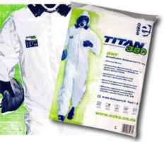 Titan 380  Disposable Coveralls