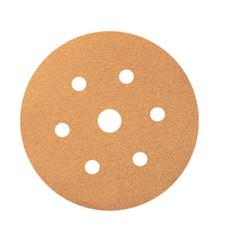 100 Pack, Smirdex Powerline 820 Velcro Discs 150mm 6+1 Hole