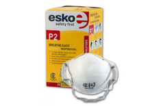 Esko Breathe Easy Disposable P2 Dust / Mist Respirator Masks