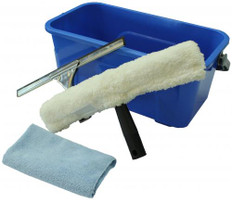 Complete Window Cleaning Set Including Bucket