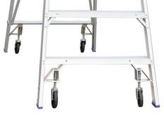 Wheel Kits for Indalex Platform Ladders