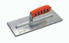 "Kraft 11"" x 4.5"" Carbon Plaster Trowel with Pro Form Handle"